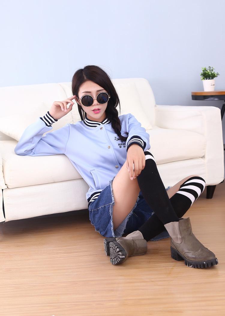 【韩国东大门飞机运动棒球服】-衣服-服饰鞋包