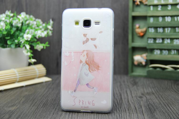 三星g5308w g5309w g5306w彩绘软手机套