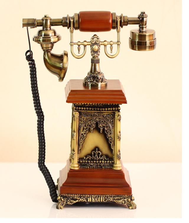 普润 异国风情欧式古董仿古电话