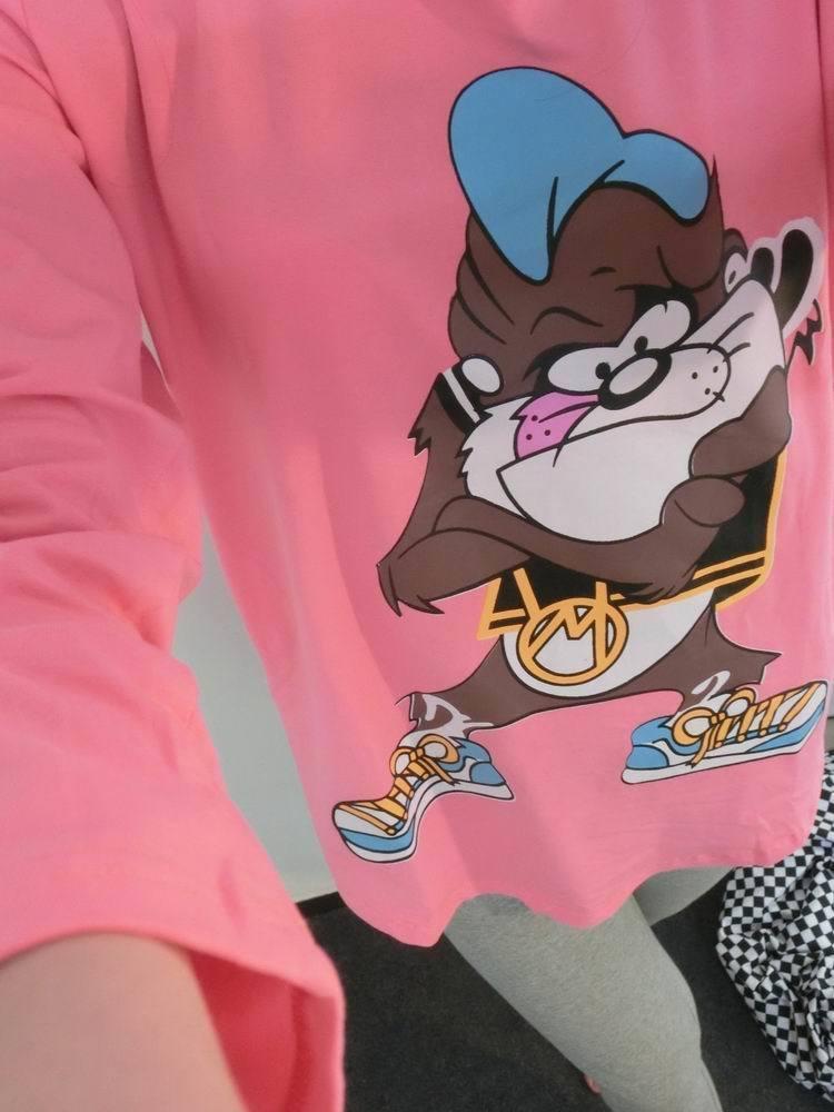 【纯棉】韩版狮子头宽松卡通睡衣