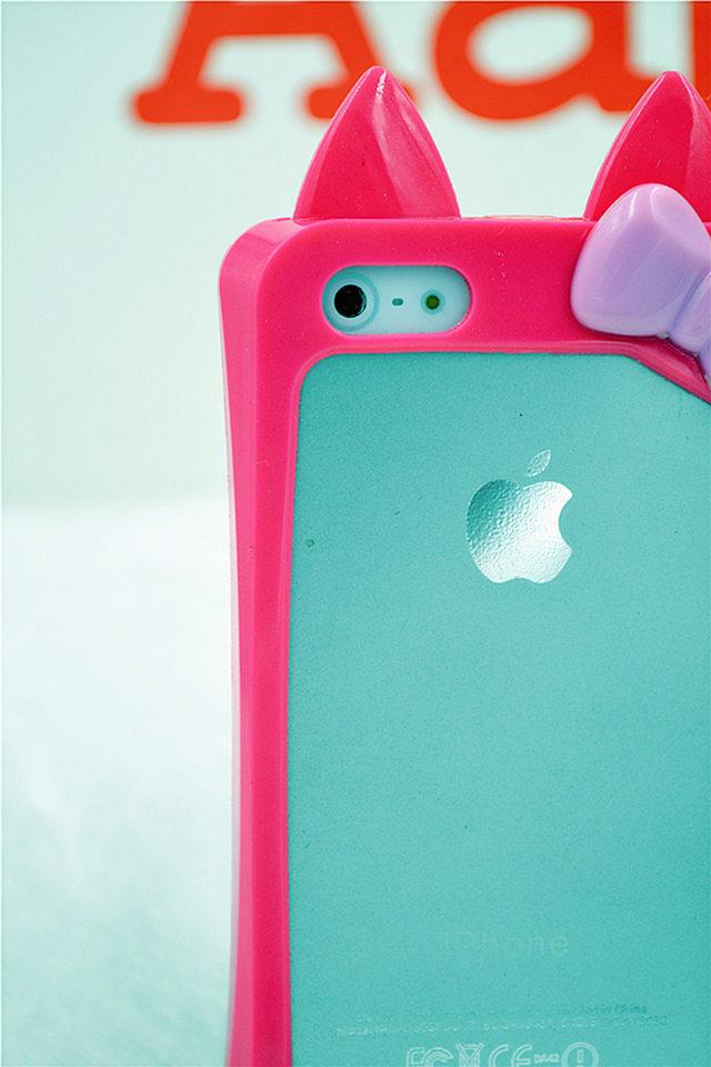 可爱小兔子iphone 5/5s 手机壳边框