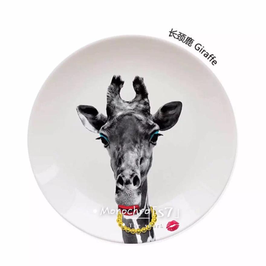 diy动物餐盘