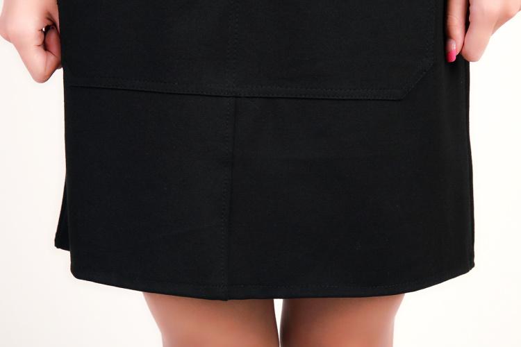 【简约针织背带裙】-衣服-连衣裙