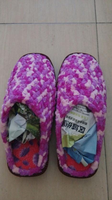 【纯手工编织男女棉鞋】-无类目-女鞋