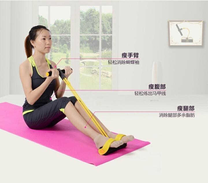 【仰卧起坐器健身家用运动拉力器减】-无类目--飞达