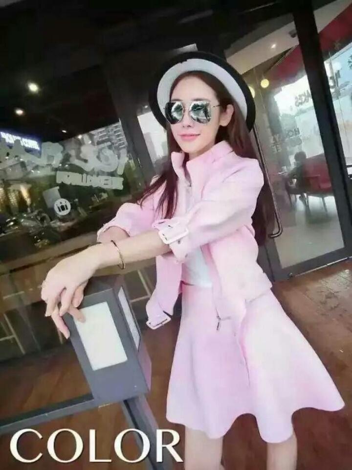 【韩版太空棉休闲半身裙情趣】-套装/学生校服/工作套装加盟网图片