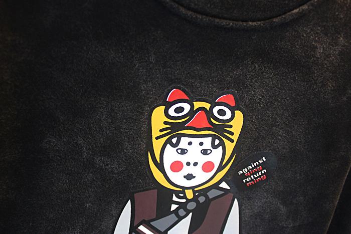 【潮男原宿风休闲卡通人物卫衣】-男装-卫衣