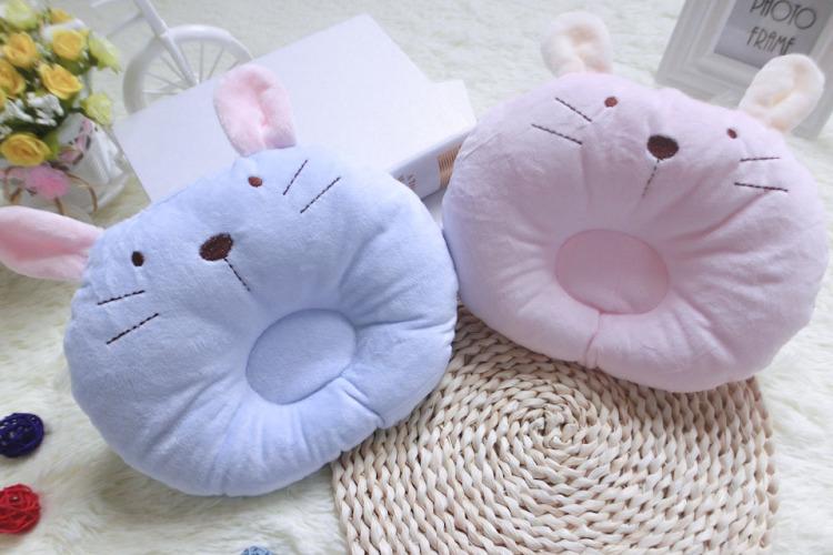 【新品秋冬萌兔可爱婴儿枕头】-母婴-尿片/洗护/喂哺