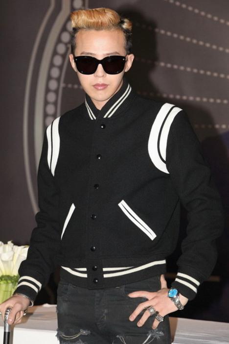 【gd权志龙同款黑白棒球服外套】-衣服-棒球衫