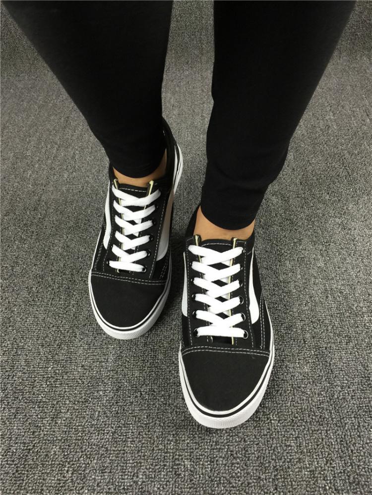 【exo权志龙同款vans万斯帆布鞋】-无类目-女鞋