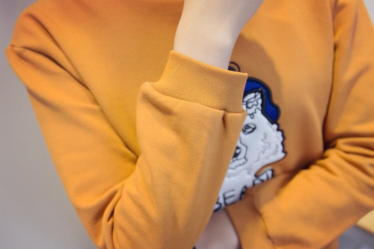 miss家韩版卡通动物卫衣