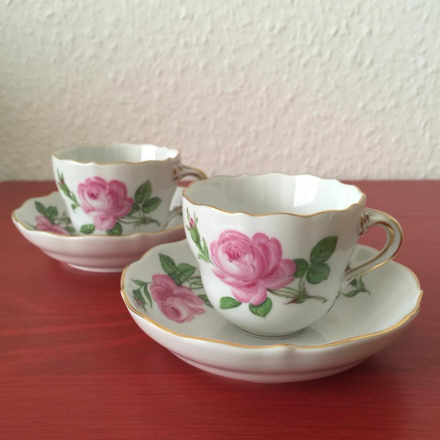 德国梅森瓷器 玫瑰花系列 德国