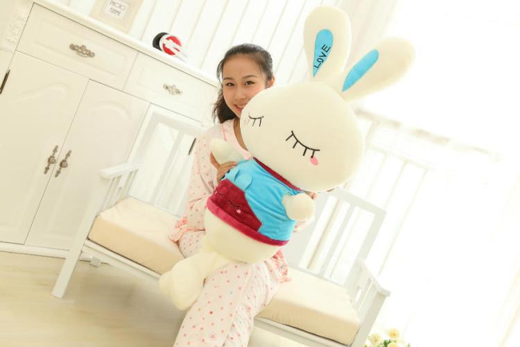 【可爱小兔子兔大号流氓兔公仔布娃娃玩偶儿童】