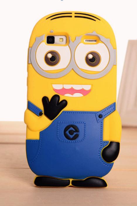 联想a708t小黄人卡通可爱手机壳