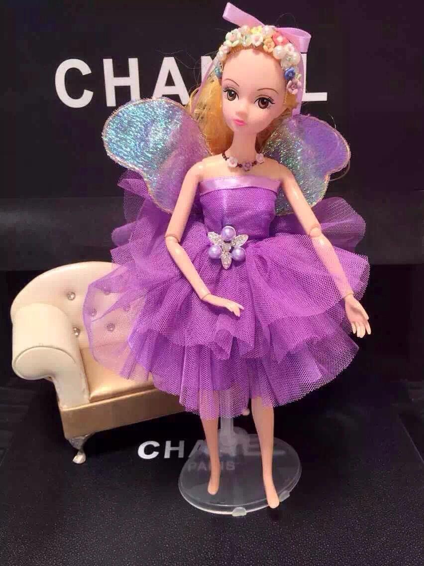 芭比娃娃新款设计纯手工制作 汽