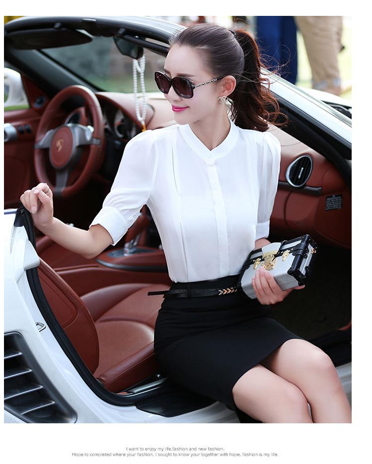 简约时尚白领职业衣裙套装