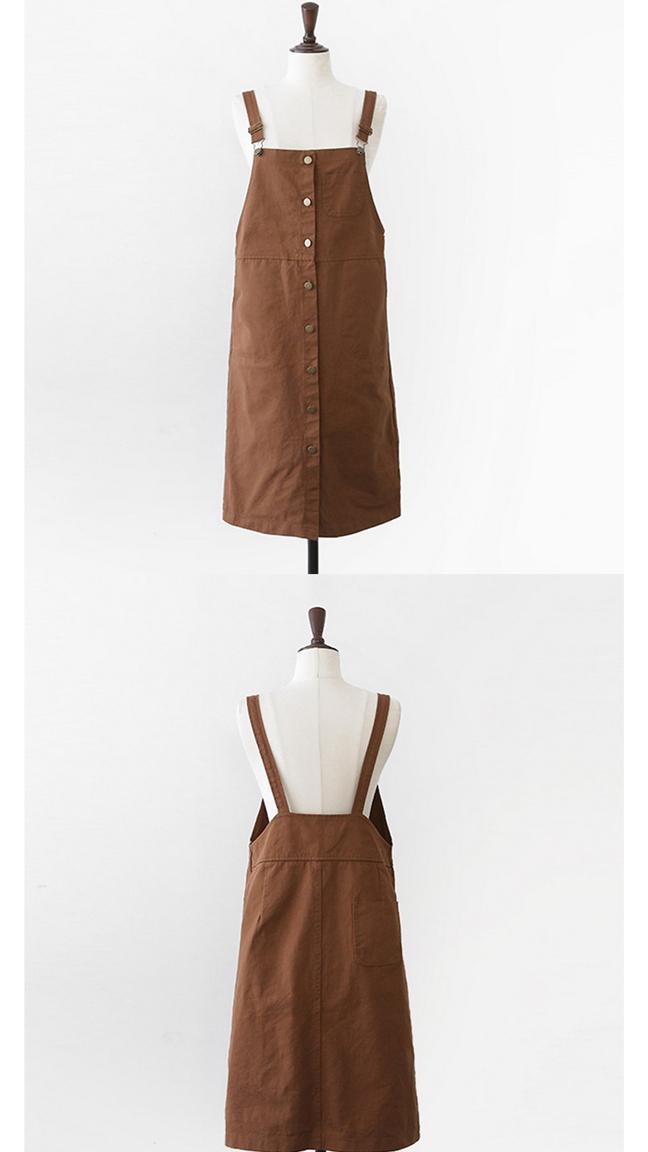 【条纹t恤+修身背带裙】-衣服-服饰鞋包