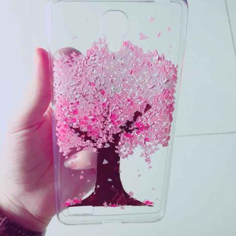 樱花树手绘手机壳】-无类目-其它