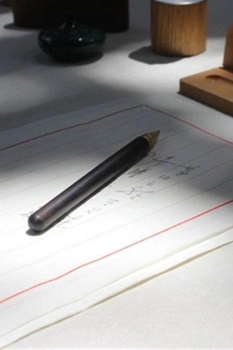 黄铜实木中性签字笔套装】-null-百货