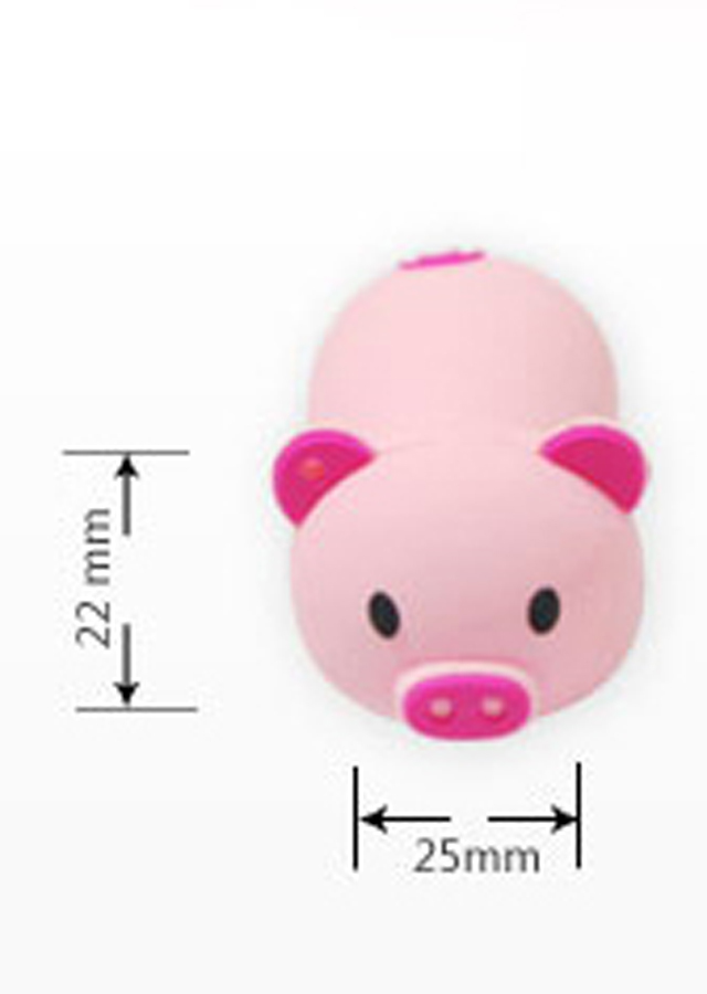 迷你小懒猪u盘8g 个性情侣小猪猪u盘16g 32gu盘