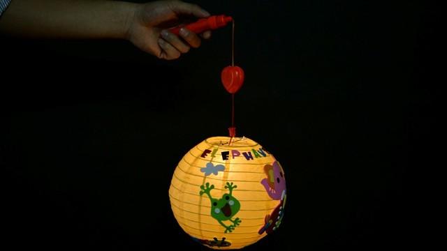 手工灯笼架制作方法图解