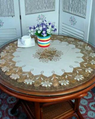 茶几桌布欧式搭配图片