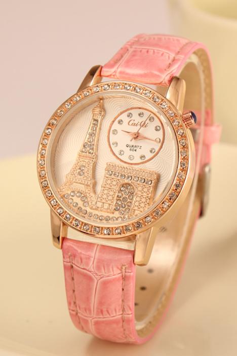 时尚埃菲尔铁塔女士手表