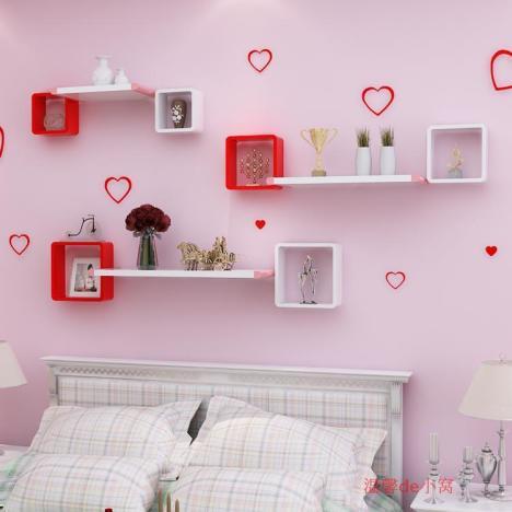 【影视墙装饰架挂墙上置物架电视背景墙客厅墙面简约