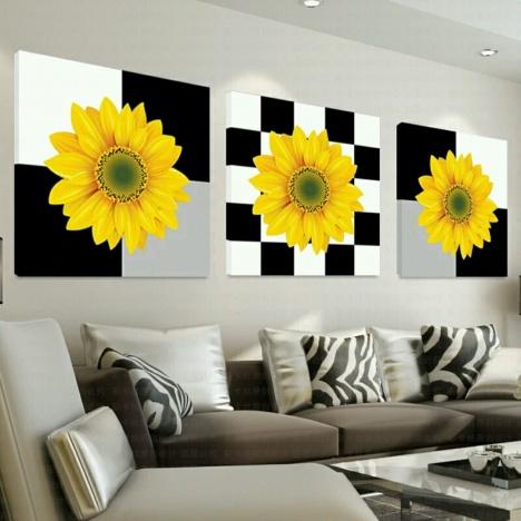 新款5d钻石画欧式花卉全贴钻砖石秀钻石十字绣客厅