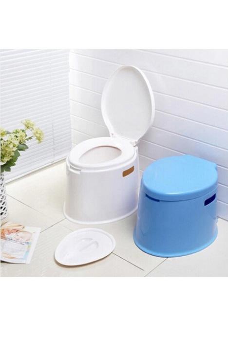 【加厚移动马桶坐便器老人马桶孕妇便桶全新塑料儿童
