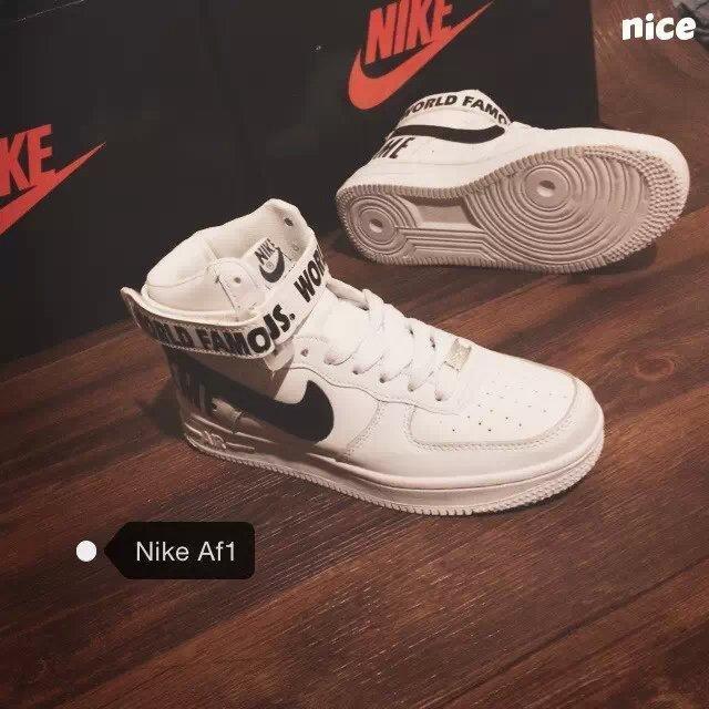 nike af1空军一号权志龙同款板鞋字母篮球鞋运动鞋