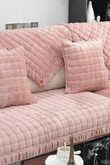 Đệm lót ghế sô-pha mùa đông cao cấp bằng vải flanen dày