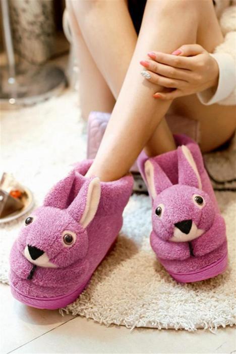 兔子,卡通,棉鞋,居家鞋