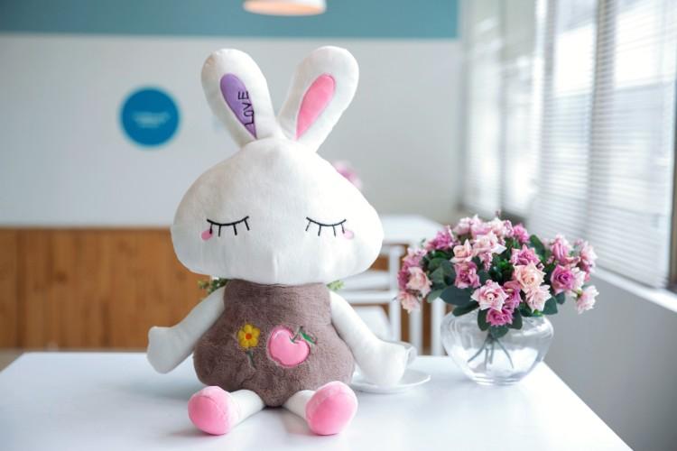 (洁优)卡通可爱米兔立体暖手宝