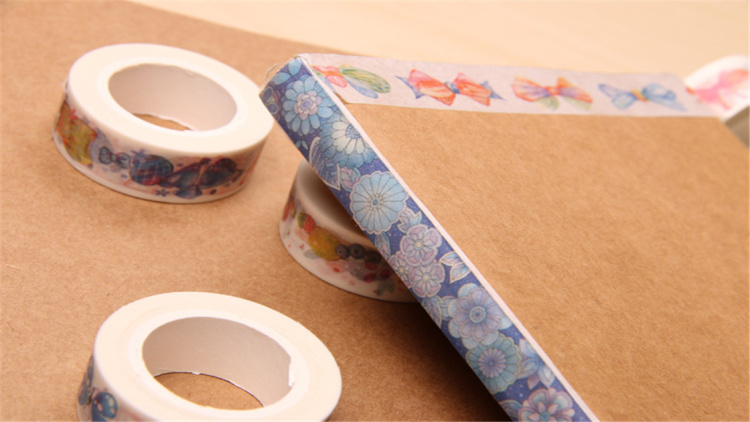 日系和纸胶带手账必备圣诞礼物小清新