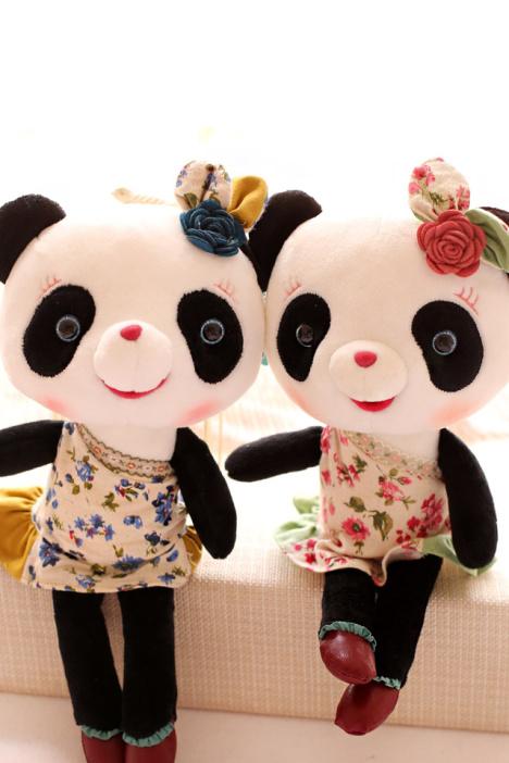 正版公仔,熊猫毛绒玩具