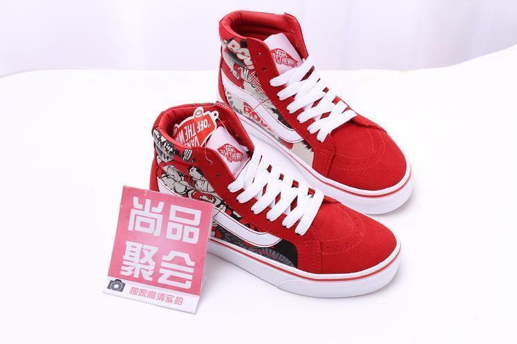 【尚品聚会万斯欧美街头滑板鞋】-鞋子-女鞋