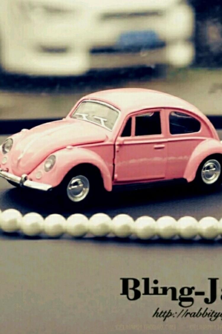 车模复古老爷车大众甲壳虫汽车香水座汽车摆件车载香水