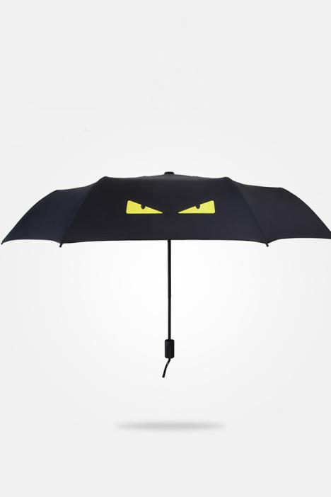 小怪兽创意折叠雨伞