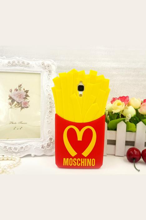 【小米4卡通麦当劳薯条硅胶套】-配饰-手机配件