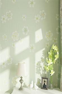 Giấy dán tường phòng ngủ, phòng khách, phòng tân hôn, màu sắc ấm áp trang nhã, chất liệu dày dặn, th