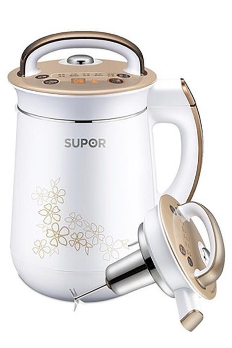 supor/苏泊尔 不锈钢豆浆机 全自动免过滤豆将机 家用