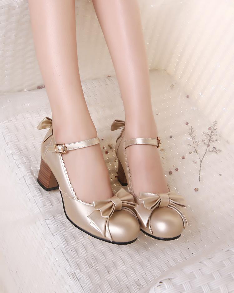 洛麗塔可愛蝴蝶結公主鞋】-鞋子-女鞋