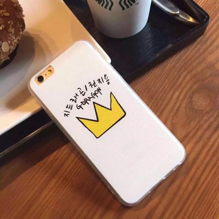 vip粉丝应援灯 皇冠灯苹果手机壳硅胶包边手机壳包邮