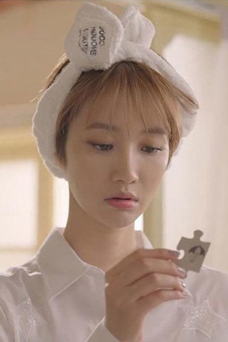 韩版可爱绒布刺绣洗脸束发带