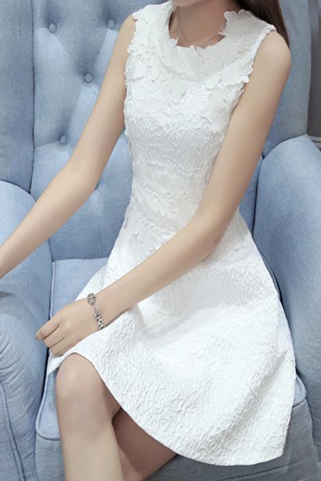 晚礼服裙子手绘 蕾丝