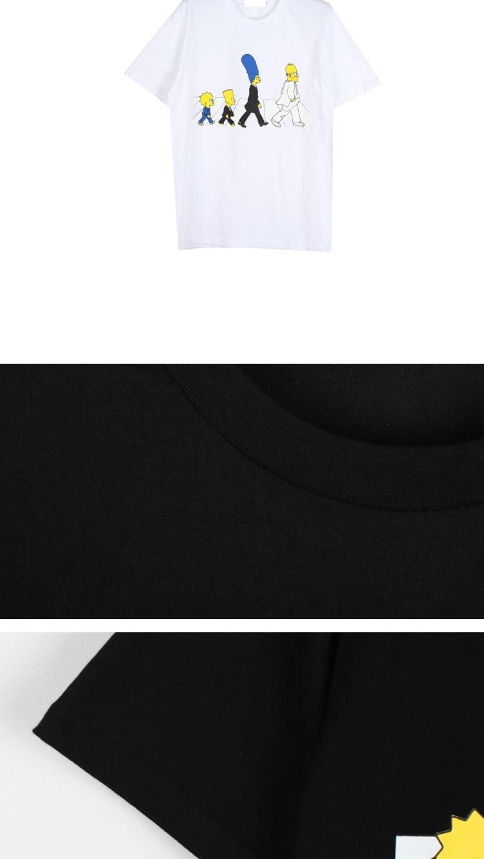 【【纯棉】宽松披头士印花情侣t恤】-衣服-服饰鞋包
