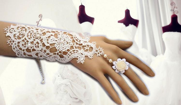铅笔画婚纱手链
