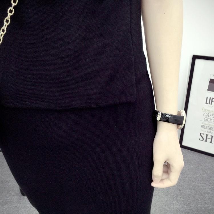 【简约针织背带裙】-衣服-裙子
