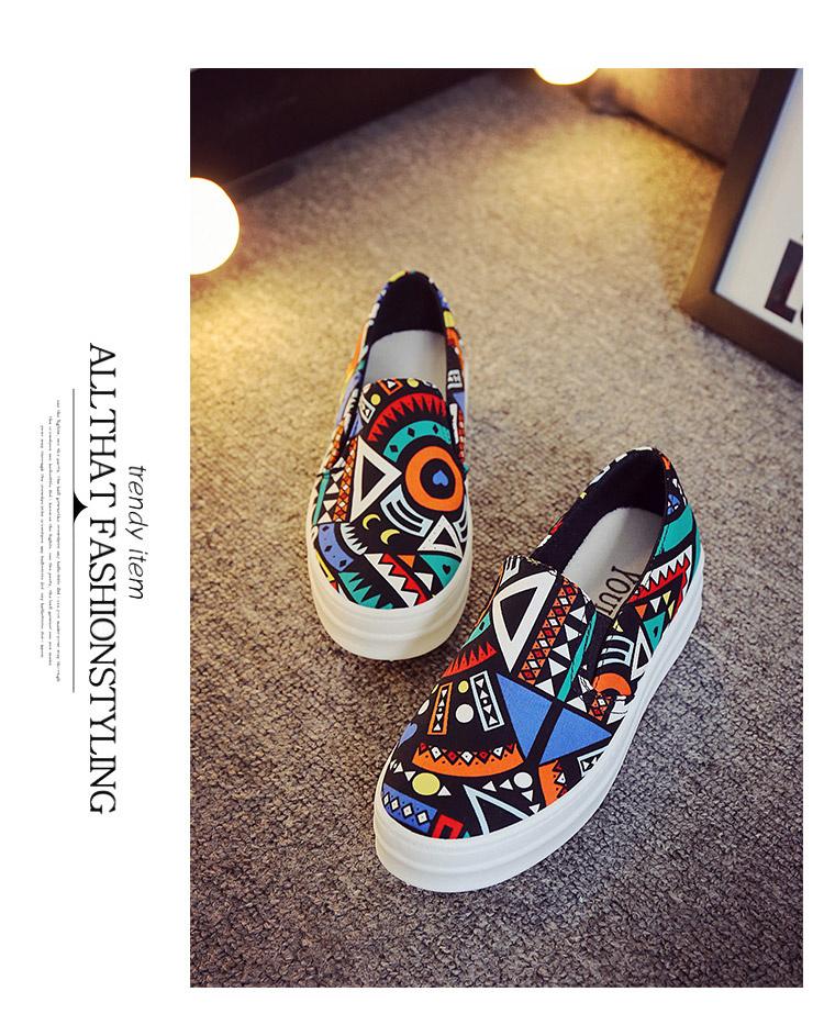 乐福鞋手绘涂鸦套